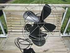 "Hunter Fan & Ventilating Co. Vintage 1940""s Desk Fan"