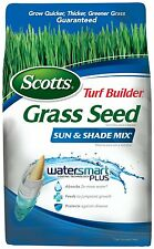Scotts Turf Builder Grass Seed - Sun and Shade Mix, 3-Pound (Size: 3-Pound) NEW