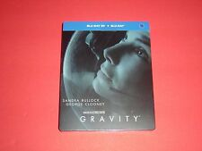 Gravity 2D/3D Blu Ray Steelbook Limited Korean Updated Edition