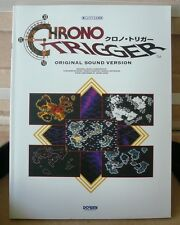 Chrono Trigger piano score book