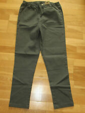 cotton traders pine green pull on trousers size 12 leg 29 brand new with tags
