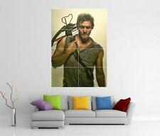 The Walking Dead Daryl Dixon Norman Reedus Gigante Pared Arte Foto impresión Cartel