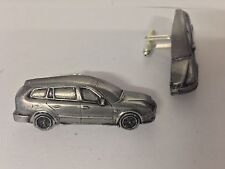 Saab 93 Estate 1995 3D cufflinks classic car pewter effect cufflinks ref237