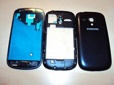 Samsung Galaxy S3 i8190 MINI Gehäuse Handyschale Front Back Cover Housing blau