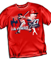 Mike Trout Los Angeles Angels T-shirt  - Adult Sizes Brand New