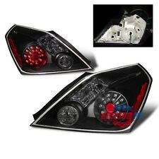 Black LED Tail lights replacement for 2008-2010 Nissan Altima 2.5/S/SL/SE Pair