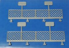 2 Tyco Mattel Gray Guardrail Arena Fence Pieces In Great Condition Free S&H
