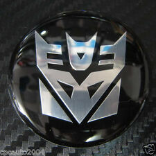 Car Transformers Decepticon Truck Badge Emblem WHEEL Sticker 4pcs set