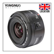 YONGNUO YN35mm F/2 Lens Wide-angle Large Aperture Fixed Auto Focus Lens Canon UK