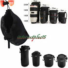 Matin Neoprene waterproof Soft Camera Lens Pouch bag Case Size- S M L XL GU~