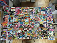 AVENGERS 310 ISSUE COMIC RUN LOT 241-402 ANNUALS 11-23 (VOL.2) 1-77 MARVEL