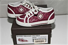 chaussures boogie sneaker framboise LOUIS VUITTON pointure 25 COMME NEUVES/BOITE