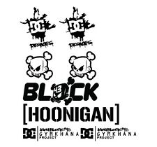 KEN BLOCK #43 GYMKHANA PROJECT HOONIGAN DC RALLY SKATE DECAL SET SUBARU FIESTA