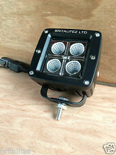 LED Spot Light 4x4 16W Work Light Motorcycle Jeep SUV ATV Off-road Britalitez