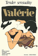 VALERIE Movie POSTER 27x40 Yvan Ducharme Andr e Flamand Hugo G linas Guy Godin