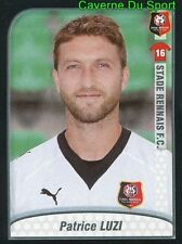 397 PATRICE LUZI FRANCE STADE RENNAIS.FC MOUSCRON STICKER FOOT 2009-2010 PANINI