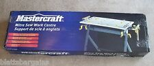 "MASTERCRAFT MITER SAW STAND WORK CENTER 109"" WINGS 55-6858-4 MITRE CHOP TABLE"