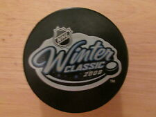 2008 National Hockey League Winter Classic Logo Puck