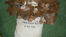 TWO rolls of WHEAT PENNY'S! Possibly 1909 TO 1958D!  Nice Mix Of Teens to 50's