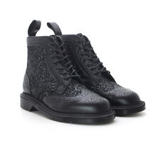 Dr. Martens Women's 1460 Surya Black Brogue LIMITED EDITION MIE US 8 EU 39 UK 6