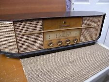 JVC tube am/fm/sw radio tfm-407u Japan. 100% work condition.