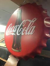 Coca-Cola Wall Mounted Bottle Cap Collector Memorabilia Ti2738