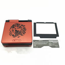 LL Dragon Housing Shell Case Cover w/Lens for Nintendo Gameboy Advance SP GBA SP