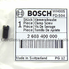 Bosch Genuine PST 54 E & PE Jigsaw Grub Screw Blade Locking Part 2 603 400 000