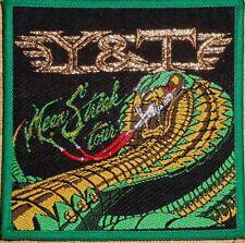 Y & T 'MEAN STREAK TOUR' vintage woven patch