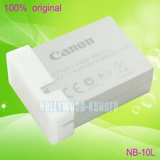 New Genuine Canon NB-10L NB10L Battery for Canon PowerShot SX40 HS SX50HS IS