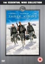 [3] THREE KINGS George Clooney*Mark Wahlberg*Ice Cube Iraq War Action DVD *EXC*