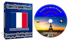 Learn to Speak French Language Training Course on DVD disk  MP3 & TEXTS