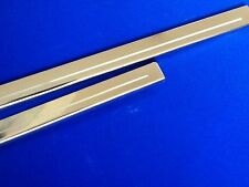 ford Escort mk4 stainless Door sills Design Your Own Logo :RS XR stainless steel