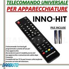 TELECOMANDO UNIVERSALE PER APPARECCHI MARCA INNO HIT INVIARE CODICE MODELLO