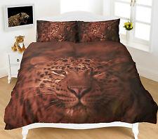Duvet Cover & Pillowcases Quilt Cover Animal Print Design Bedding Set All Sizes