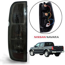 Fit Nissan Frontier Navara Tekna D40 Tail Light Rear Lamp Black Smoke Len Left