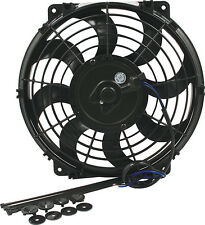 "ELECTRIC COOLING FAN 16""CURVED BLADES 1980 CFM PULLER/PUSHER DERALE SPAL HOT ROD"