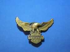 Vintage 1970's Yamaha Motor Cycles Eagle Brass Biker Belt Buckle