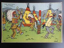 RARE ancienne Image du puzzle Cube Dubreucq Tintin en Amérique ETAT NEUF