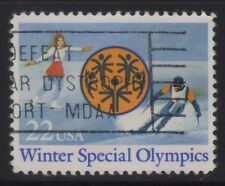 [JSC]1985 Winter Special Olympics 22 USA
