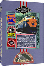 CNJ 'Big Little Railroad' + D&RGW Journey To Yesterday + 2 More On DVD!