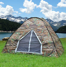Camping Hiking Hunting Outdoor Survival Pop Up Instant Camouflage Tent Best Gift