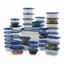 Plastic Food Storage Containers Boxes 88 Piece Set Large Small Lids Kitchen