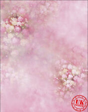 FLOWER TREE ROSE PINK BABY BACKDROP BACKGROUND VINYL PHOTO PROP 5X7FT 150x220CM