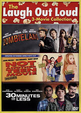30 Minutes of Less/Not Another Teen Movie/Zombieland (DVD, 2015, 2-Disc Set)