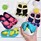 Baby Girls Summer Fashion Shoes Toddler Jelly Shoes Cute Bow Soft Sole Sandals