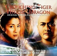 Crouching Tiger, Hidden Dragon Soundtrack by Yo-Yo Ma/Tan Dun (CD, Nov-2000)