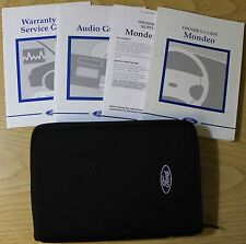 FORD MONDEO 1996-2000 HANDBOOK OWNERS MANUAL  WALLET PACK 4109