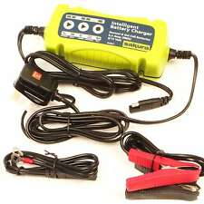 PRO 6V 12V 5.3A NEW PLUG & LEAVE CAR VAN BIKE INTELLIGENT SMART BATTERY CHARGER