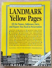 Landmark Yellow Pages: Where to Find All the Names, Addresses Facts Figures 1999